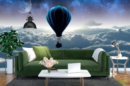 3Д  3д фотообои Воздушный шар