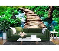 Фотообои Вода и мост