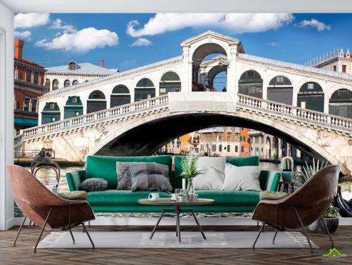 Фотообои Венеция по выгодной цене Фотообои Мост в Венеции