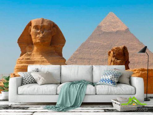 обои Архитектура Фотообои Египетские пирамиды