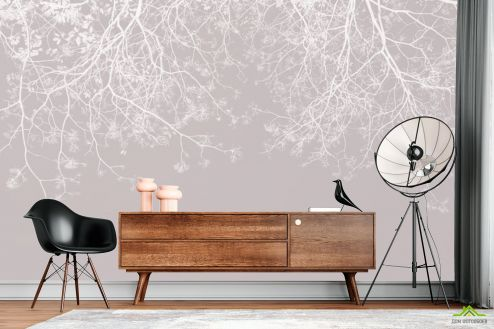 Фотообои по стилю по выгодной цене Фотообои Ветки с потолка