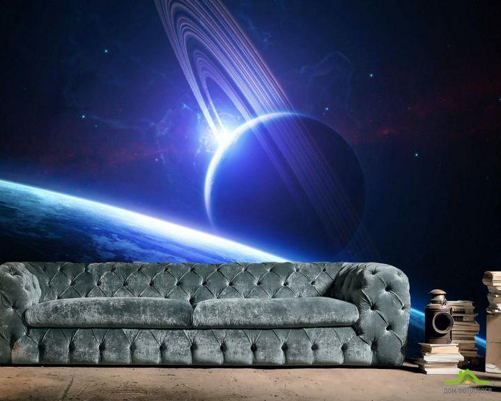 Фотообои Планета сатурн