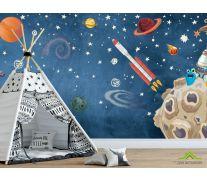 Фотообои Космическая история часть 2