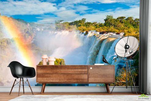 Водопад Фотообои Бурлящийводопад купить