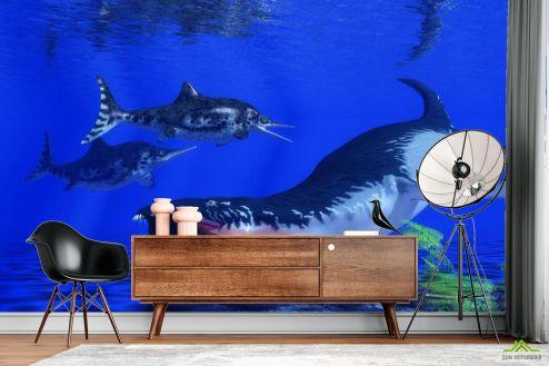 Фотообои Море по выгодной цене Фотообои Подводные животные