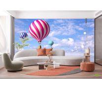 Фотообои Воздушные шары в небе