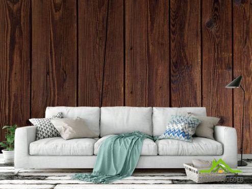 лофт Фотообои Стенка из дерева