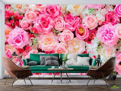 Розовые  Фотообои Розы