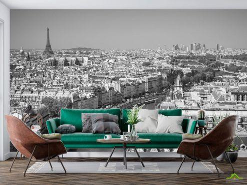 Черно-белые  Фотообои город