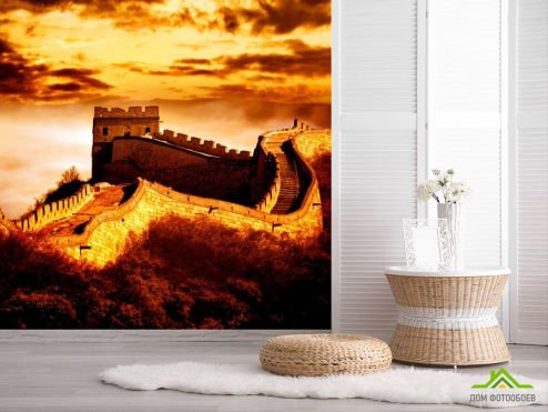 Каталог фотообоев Фотообои Китайская стена