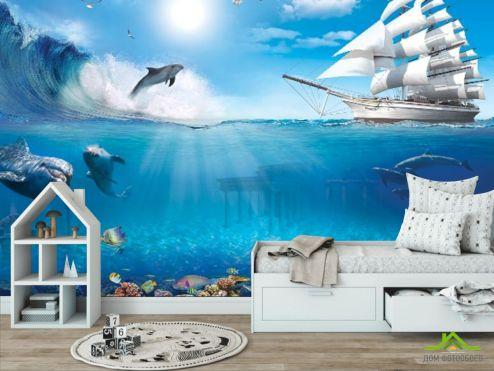 в детскую Фотообои Море