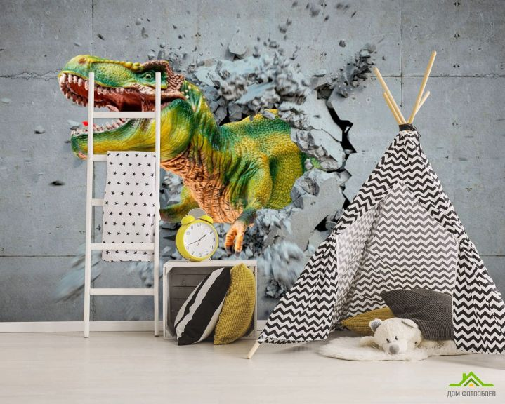 Фотообои Динозавр 3Д