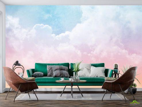 по выгодной цене Фотообои Розовое небо