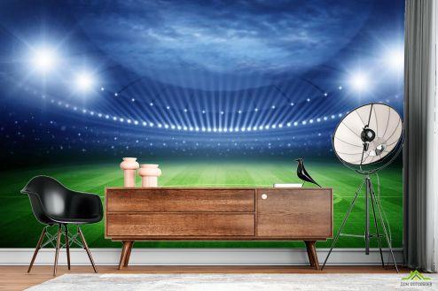 Фотообои Спорт по выгодной цене Фотообои пустой стадион