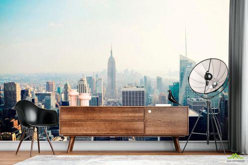 Нью Йорк Фотообои New York высотки