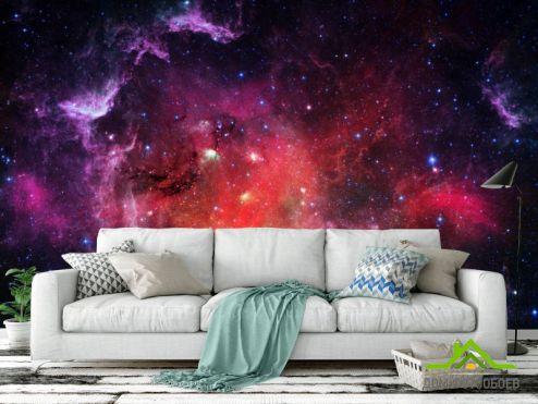 Фотообои Космос по выгодной цене Фотообои Космическое небо