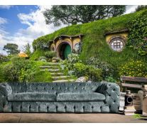 Фотообои домик в холме