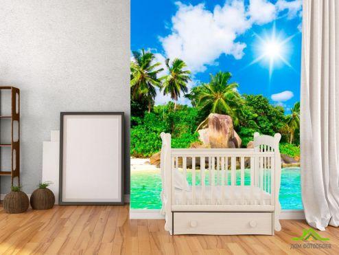 обои Пляж Фотообои На острове полдень
