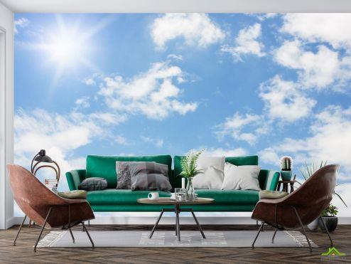 Фотообои Природа по выгодной цене Фотообои солнечное небо