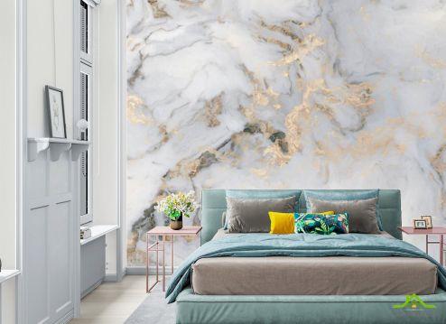 Фотообои в спальню по выгодной цене Фотообои Светлый мрамор