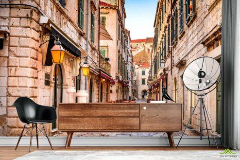 Улицы Фотообои Улочка в старом городе
