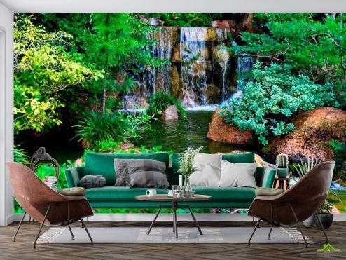 Природа Фотообои Водопад, ручей
