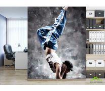 Фотообои парень танцор