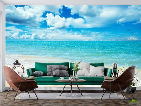 Фотообои Море по выгодной цене Фотообои Море блестит под солнцем