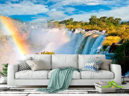 обои Водопад Фотообои Бурлящийводопад