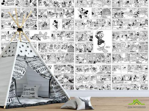 для подростка Фотообои Комиксы