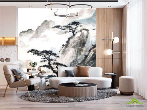 Восточный стиль Фотообои Японские мотивы