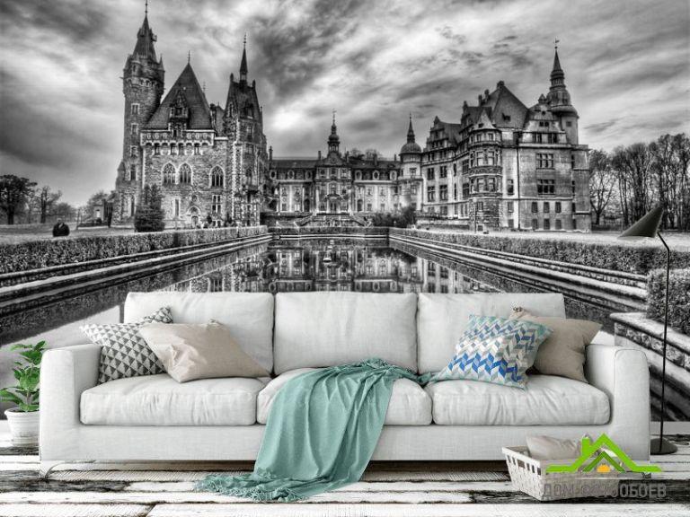 Фотообои Готичный замок