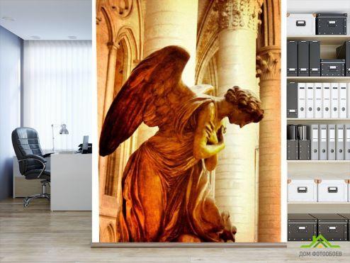 обои Архитектура Фотообои Ангел