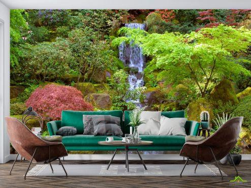 Водопад Фотообои Водопад, озерцо купить