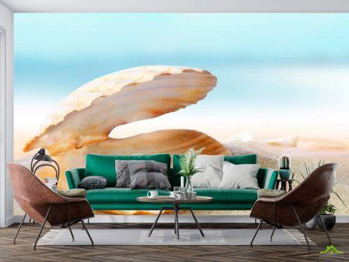 Море Фотообои Ракушка с жемчужиной