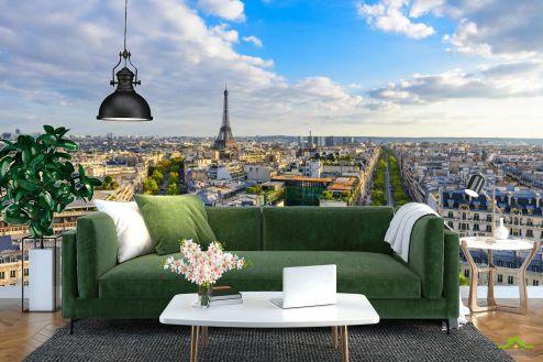 Париж Фотообои лето в Париже