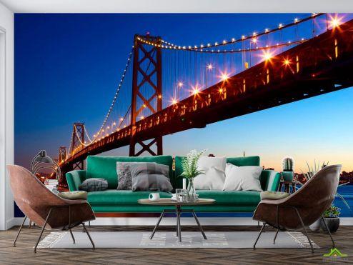 Архитектура Фотообои Мост Бруклинский