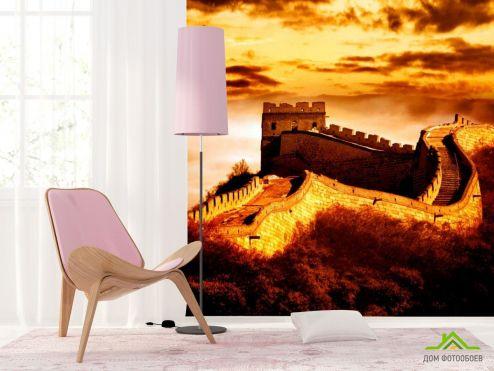 обои Дворцы и соборы Фотообои Китайская стена