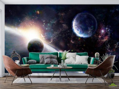 Фотообои Космос по выгодной цене Фотообои Планеты