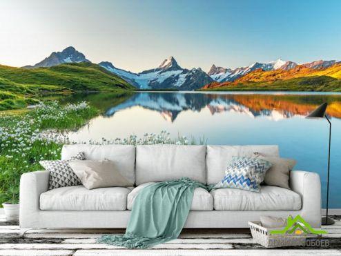 Природа Фотообои Красивые горы купить