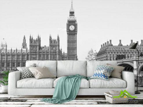 обои Город Фотообои  Лондонский Биг-Бен