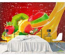 Фотообои Нарезанные фрукты, ягоды