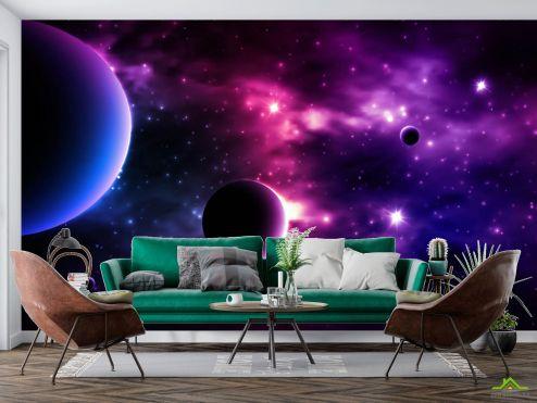 Космос Фотообои Яркий космос