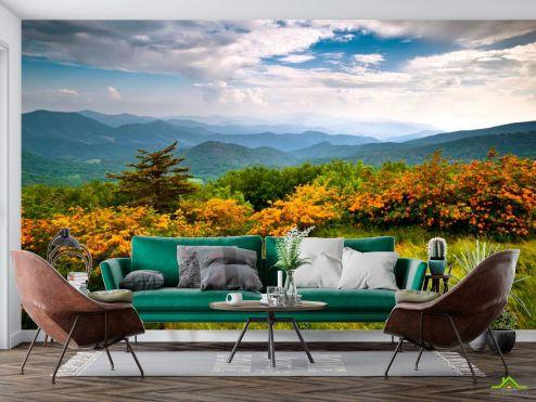 Природа Фотообои Дикое дыхание, горы