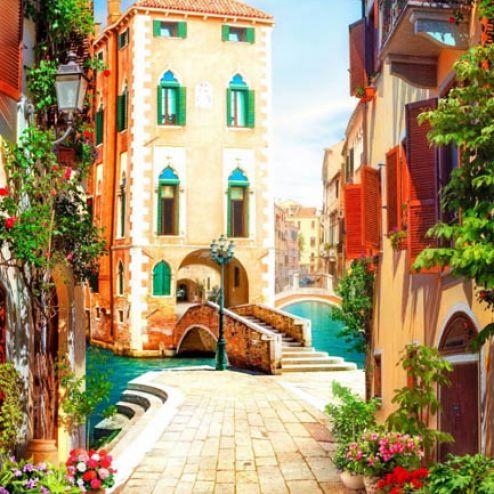 Фотообои в коридор и прихожую по выгодной цене Фотообои Фреска Венеция