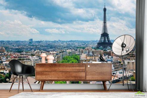 Каталог фотообоев Фотообои Эйфелева башня, Париж