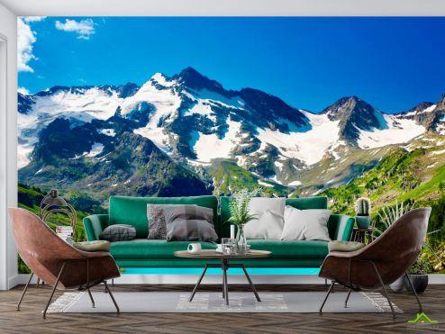 Природа Фотообои Песня в горах
