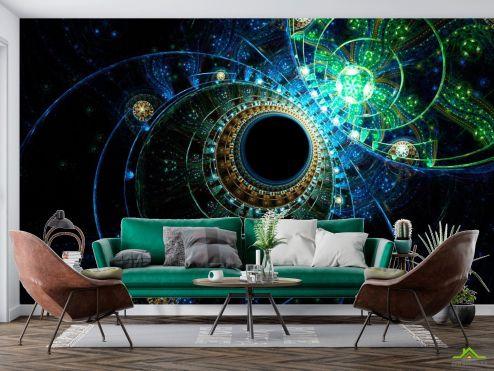 Космос Фотообои Узоры планет