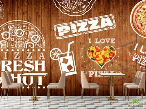для кафе Фотообои Для пиццерии