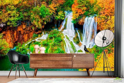 Водопад Фотообои Два ручейка купить